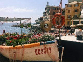 Italy's Most Chic Fishing Village? Aperol Spritz & Gelato at Bocadesse's Pebbled Beach